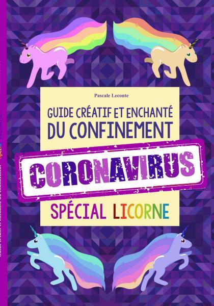 Couv licorne coronal amaz recto